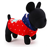 Dog Costume Coat Hoodie Dog Clothes Cute Casual/Daily Cosplay Solid Blue Red