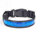 Collar Wateproof Reflective Portable Adjustable Solid Nylon