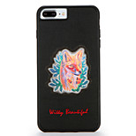 For Apple iPhone7 7 Plus Case Cover Pattern Back Cover Case Dog Hard PC 6s Plus  6 Plus  6s 6