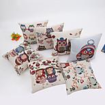 1 Pcs 45cm*45cm  Cartoon Owl Series  Pillow Case