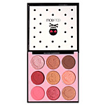 Wodwod 9 Grid Sakura Makeup Mineral Colorful Powder Eyeshadow Palette