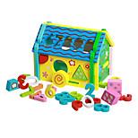 Дисплей Модель Конструкторы Обучающая игрушка Аксессуары для кукольного домика Для получения подарка Конструкторы Натуральное дерево3-6