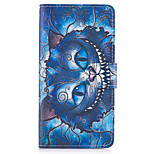 Case For Huawei P10 Lite P8 Lite (2017) The Blue Cat Pattern PU Leather Cases for Huawei P9 Lite Mate 9 Y625 Changxiang5