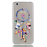 For Huawei P8 Lite (2017) P9 Lite Phone Case TPU Material Wind Chimes Pattern Relief Phone Case P8 Lite