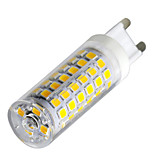 YWXLight® Dimmable G9 9W 88LED 2835SMD 750-850 Lm Warm White/Cool White/Natural White LED Ceramics Lamp AC 220-240V 1PCS