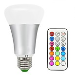 10W LED Smart Bulbs A70 16 SMD 5050 700 lm Warm White RGB V 1 pcs