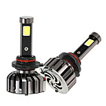 KKmoon Pair of 9005 HB3 DC 12V 40W 4000LM 6000K LED Headlight Lamp Kit Light Bulbs