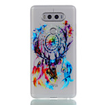 For LG G6 V20  Glow in the Dark Frosted Pattern Case Back Cover Case Dream Catcher Soft TPU LG X Screen K5 K7 K8 K10 G5