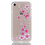 Для яблока iphone 7 7 плюс 6s 6 плюс цветок бабочки узор рельефный лак tpu материал не затухает телефонный футляр