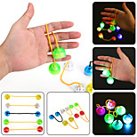 YWXLight® LED Night Light Luminous Finger YO YO Hand Finger Spinner Desk Kids Child For Rotation Time Long Anti Stress