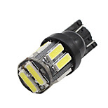 10 X NEW T10 WHITE 7020LED Wedge Car 10 SMD Light Bulb W5W 194 168 2825 192 12