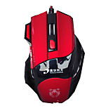 High Quality 7 Button 1600DPI Adjustable USB Wired Mouse Gaming Mouse for Computer Laptop LOL Gamer