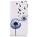 Case For Huawei P10 Lite P8 Lite (2017) The Dandelion Pattern PU Leather Cases for Huawei P9 Lite Mate 9 Y625 Changxiang5