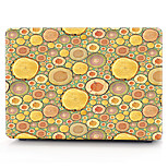 MacBook Case for Macbook wood grain Polka Dots Polycarbonate Material