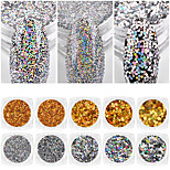Laser Sequins Nail Art Decorations Flashes Nail Art Design