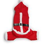 Собака Плащи Брюки Одежда для собак Рождество Носки детские