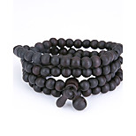 Women's Men's Strand Bracelet Wrap Bracelet Jewelry Natural Fashion Wood Irregular Jewelry For Special Occasion Gift 1pc