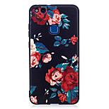 Für huawei p8 lite (2017) p9 lite Fallabdeckung Blumenmuster gemaltes geprägtes Gefühl tpu weicher Falltelefonkasten p10 lite p10 y5 ii