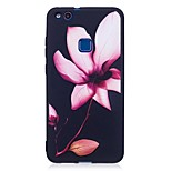 For Huawei P10 Lite P9 Lite Case Cover Flower Pattern Relief Back Cover Soft TPU P8 Lite 2017