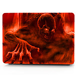 For MacBook Pro 13 15 Air 11 13 Case Cover Polycarbonate Material Cool Skulls