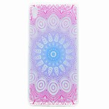For Sony XA Ultra X COMPACT Case Cover Translucent Pattern Back Cover Case Mandala Soft TPU for Sony Xperia C6 XA E5 X PERFOR