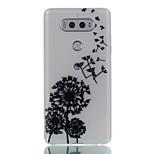 For LG G6 V20 Glow in the Dark Frosted Case Back Cover Case Dandelion Soft TPU LG X Screen K5 K7 K8 K10 G5