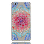 For Huawei P8 Lite (2017) P9 Lite Phone Case TPU Material Lace Flowers Pattern Relief Phone Case P8 Lite