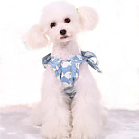 Dog Dress Dog Clothes Cute Casual/Daily British Blushing Pink White