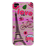 For iPhone 7 Plus 7 Phone Case Eiffel Tower Pattern Soft TPU Material Phone Case 6S Plus 6 Plus 6S 6 SE 5S 5