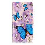For Huawei P10 Lite P10 Phone Case Butterfly Pattern Varnishing Process PU Leather Material Phone Case P10 Plus P9 Lite P8 Lite 2017 P8 Lite