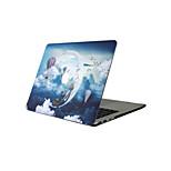 For New MacBook Pro 13 15 Air 11 13 Pro Retina 13 15 Macbook 12 Case Cover PVC Material Oil Painting Cartoon MacBook Case