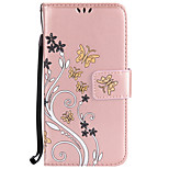 For Huawei P10 Lite  P10 Card Holder Wallet with Stand Flip Embossed Case Full Body Case Flower Hard PU Leather for P8 Lite 2017 P9 Lite Y6II Y5II