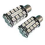 2PCS High Bright Lightness 1156 20W LED Bulb White Color