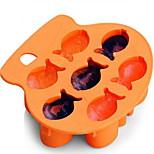 1 pezzo muffa di cottura Con animale per Ice Gomma di silicone Fai da te