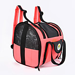Cat Dog Carrier & Travel Backpack Pet Carrier Portable Breathable Solid Yellow Red Green