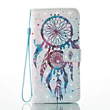 Case For Apple iPhone 7 Plus 7 Card Holder Wallet with Stand Flip Pattern Case Full Body Case 3D Dream Catcher Hard PU Leather for 6s Plus 6s 5s se