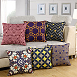 11 Design High Quality Cotton/Linen Printing Pillow Cover European Style Pillow Case