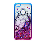For Huawei P10 Lite P8 Lite (2017) Case Cover Flowing Liquid Pattern Back Cover Case Glitter Shine Mandala Soft TPU