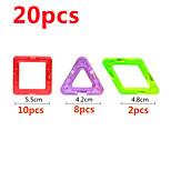 Обучающая игрушка Магнитные блоки Для получения подарка Конструкторы Квадратный Треугольник 6 лет и выше Игрушки