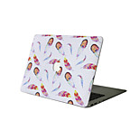 MacBook Case For New MacBook Pro 13 15 Air 11 13 Pro Retina 13 15 Macbook 12 Case Cover PVC Material Oil Painting Feathers