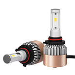 2pcs 9005 Headlight 72W 7200LM Philips LED KIT HIGH LOW Beam Replace Halogen Xenon 6500K 12V