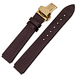 For  Huawei B2 18mm  MSTRE Watch Band Strap Solid color Leather Sport Band
