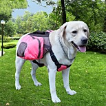 Cat Dog Carrier & Travel Backpack Dog Pack Pet Carrier Adjustable/Retractable Portable Breathable Foldable Soft SolidBlushing Pink Green