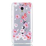 Til xiaomi redmi note 4 case cover blomstermønster skinnende malet præget tpu blødt tilfælde