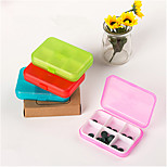 Pill Cases for Travel 6 Cells Mini Pill Storage Box Plastic Cases for Medicine Jewelry Organizers Medication Pill Box