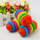 Dog Toy Pet Toys Chew Toy Colorful Gear Durable Rubber