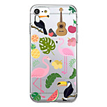 For  iPhone 7 Plus 7 Case Cover Ultra Thin Pattern Back Cover Case Flamingo Soft TPU for iPhone  6s Plus 6 Plus  SE 5S  5