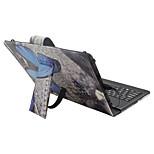 Назначение Чехлы панели со стендом с клавиатурой Флип С узором Чехол Кейс для Бабочка Твердый Искусственная кожа для Apple Samsung Huawei