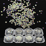1 Bottle Fashion SS3-SS20 Nail Art DIY Beauty Shining Rhinestones Nail Art Crystal AB Rhinestones Glitter Design 3D Shining Decoration