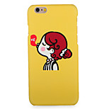 Voor apple iphone 7 7plus case cover patroon achterkant behuizing cartoon hard pc 6s plus 6 plus 6s 6 5s 5